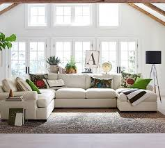 Sofa Sectional With Chaise Living Rooms White Tufted Leather Sofa Sectional Chaise Lounge On