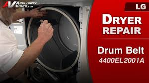 Troubleshooting Clothes Dryer Problems Lg Dle1001w Dryer Appliance Video