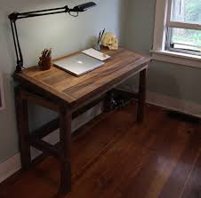 Oak Drafting Table by Adjustable Drafting Table Handmade With Reclaimed Wood Free