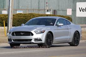 White Mustang With Black Wheels More Street Photos Of The 2015 Mustang Cruising Mustang
