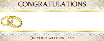 wedding congratulations banner wedding cake design personalised banner partyrama co uk