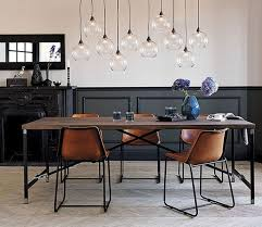 Lighting For Dining Room Table Best 25 Industrial Dining Rooms Ideas On Pinterest Industrial