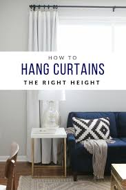 curtain hanging options how to hang curtains high and wide to make your window appear larger