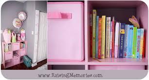 Baby Nursery Bookshelf Raising Memories Pink And Gray Baby Nursery