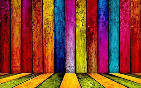 colorful wood wall wallpaper