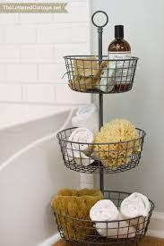bathroom basket ideas 25 bathroom space saver ideas awkward storage ideas and master