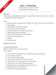 resume exles nursing new lpn resume resumes sle resume licensed practical