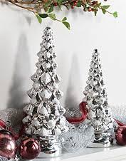 home decor mercury glass trees orvis