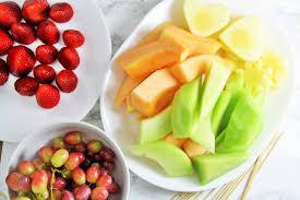 bouquet of fruits diy fruit bouquet the tasty bite