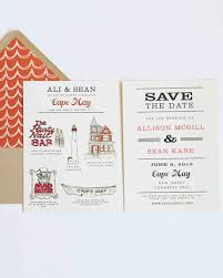 wedding invitations and save the dates 32 destination wedding save the dates martha stewart weddings