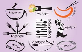 logo pack with kitchen tools free vector logo template