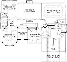 european style house plan 5 beds 4 00 baths 3317 sq ft plan 54 174