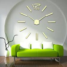 wall ideas 2017 eiffel tower large decorative wall clock modern
