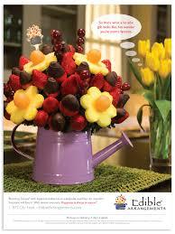 edible floral arrangements edible arrangements national print ads hot dish advertising