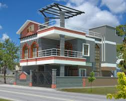 Model House Plans 3d House Plan With The Implementation Of 3d Max Modern House