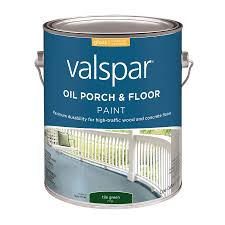 Floor Paint For Tiles Shop Valspar Porch And Floor Tile Green Gloss Oil Based Interior