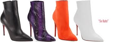 So Ankle Boots Christian Louboutin Fall 2014 So Kate Pointed Toe Ankle Boots