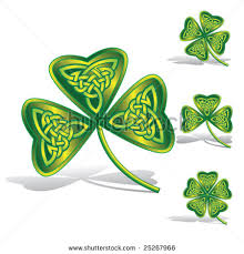 irish celtic shamrock tattoo design photos pictures and