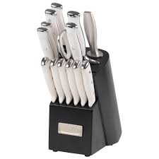 cuisinart elite pro forged triple rivet stainless steel knife set