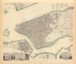 Old Map New York City by 1840 Map Of New York City