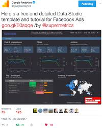 how to make a google data studio dashboard for adwords facebook