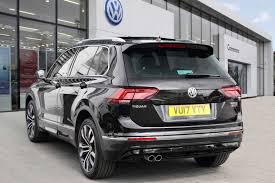 volkswagen tiguan black interior find a used black vw tiguan 2 0 tdi 150ps 4wd r line 4motion bmt