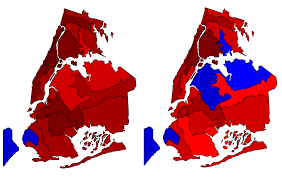 1980 Presidential Election Map by 1976 And 1980 Elections By 1981 1990 Congressional Districts