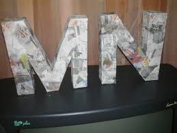 24 diy paper mache letters guide patterns