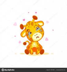 imagenes te extraño con lagrimas emoji llorando lágrimas personaje dibujos animados jirafa te extraño