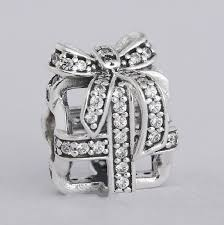 pandora charm bracelet sterling silver images Online shop authentic 925 sterling silver clear cz pave bow jpg