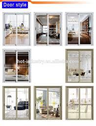 commercial aluminum glass doors interior decorative aluminium glass swing door for africa market
