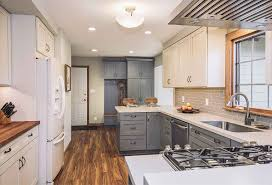 Transitional Kitchen Ideas Mid 80s Kitchen Remodel A Homeowner U0027s Experience Silent Rivers