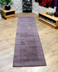 Mauve Runner Rug Purple Kitchen Rugs Washable Huetour Club