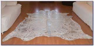 Faux Cowhide Silver Faux Cowhide Rug Rugs Home Decorating Ideas 0ao3mr2wke