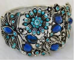 fashion stone bracelet images Silver blue stone bracelet chandi ke kangan beyond gallery jpg