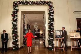 Christmas Interior Design White House Christmas Decorating Ideas