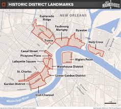 French Quarter New Orleans Map by Mayor U0027s Historic Preservation Plan Would Make Demolition Easier In