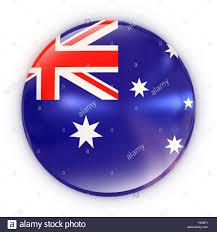 Pictures Of The Australian Flag Badge Australian Flag 3d Isolated Illustration Stock Photo