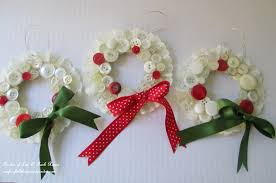 vintage button wreath ornament a diy in your sewing basket