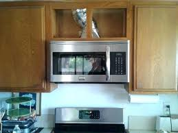over range microwave no cabinet how to install microwave image titled install a microwave step 9