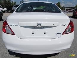 nissan versa sv 2014 2012 fresh powder white nissan versa 1 6 sv sedan 53980759 photo