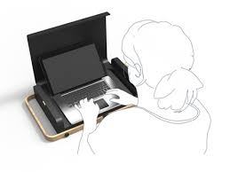 Portable Desk For Laptop Store Carry Work Portable Laptop Opens Into A Desk