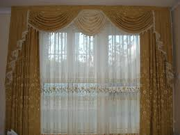 contemporary curtain design with satin drapes latest curtain