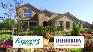 Dr Horton Cynthia Floor Plan by Express Homes At Goose Creek Reserve In Baytown Tx Youtube