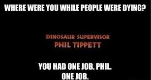 Walk The Dinosaur Meme - jurassic world s dinosaur supervisor phil tippett thanks fans