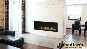 Sided Outdoor Fireplace - indoor outdoor fireplace cost see thru gas australia double sided