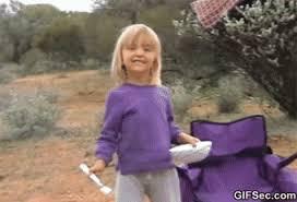 Meme Little Girl - gif little girl fail viral viral videos