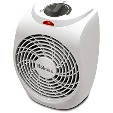 amazon com holmes personal office heater fan with manual controls
