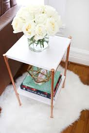 Martini Side Table by Best 25 Copper Side Table Ideas On Pinterest Copper Table