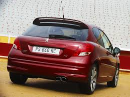 lease peugeot peugeot 207 rc 2010 picture 16 of 27